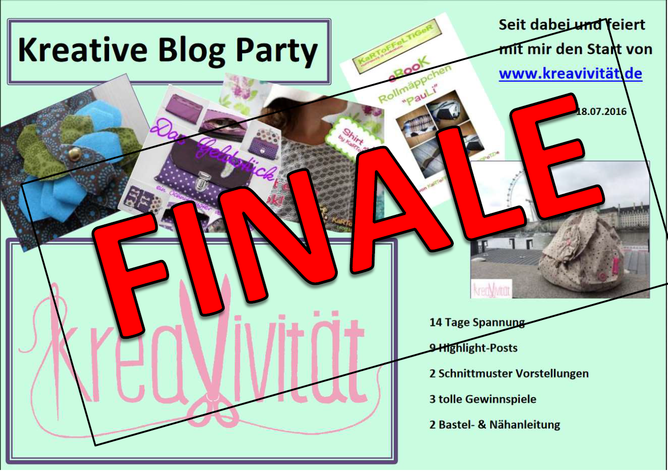 Blog Party Finale Logo