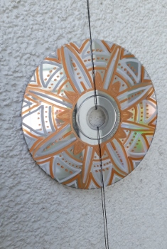 CD Upcycling Mandala 7