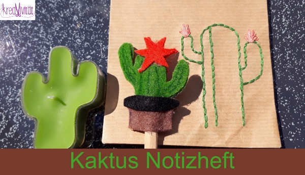 Kaktus Notizheft